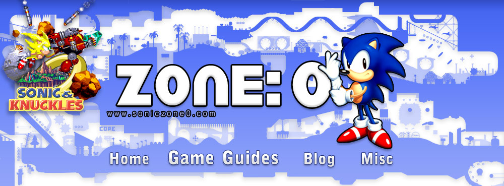 Zone: 0 - The Comprehensive Sonic the Hedgehog Game Guide
