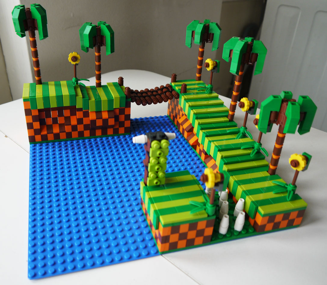 LEGO Green Hill Zone