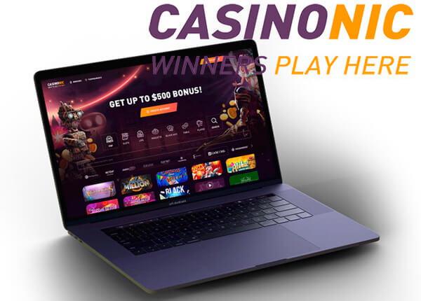 Legit Canadian online casino Casinonic
