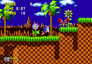 Zone: 0 > Sonic 1 > Green Hill Zone