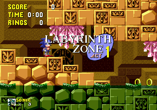 Zone 0 Gt Sonic 1 Gt Labyrinth Zone