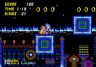 Sonic 2 Slot Machine Sprites