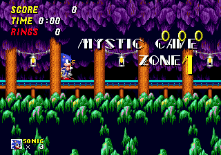 Zone 0 Gt Sonic 2 Gt Mystic Cave Zone