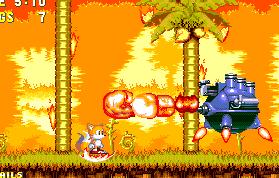 Zone: 0 > Sonic 3 > Angel Island Zone