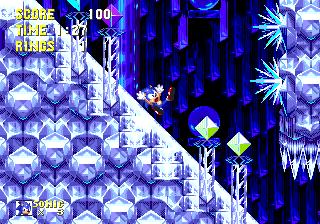 Zone: 0 > Sonic 3 > Icecap Zone