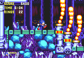 Zone: 0 > Sonic & Knuckles > Lava Reef Zone