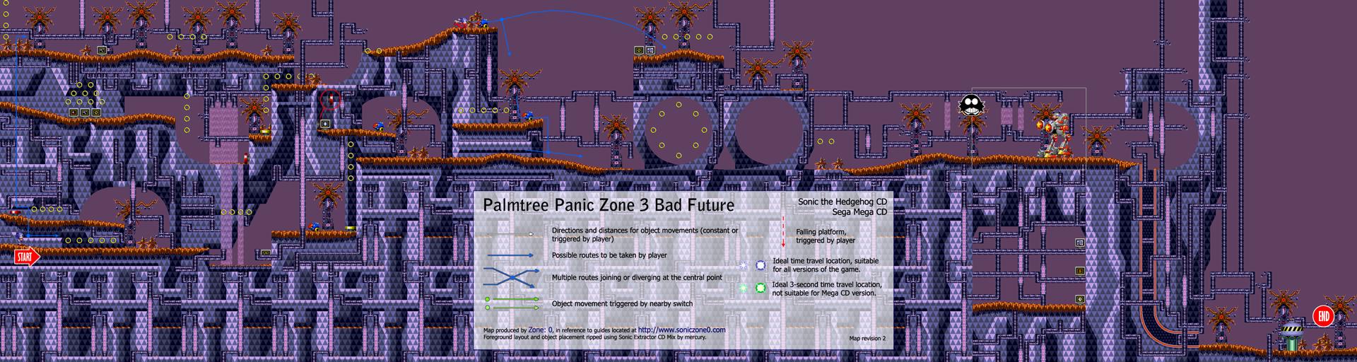 Zone: 0 > Sonic CD > Palmtree Panic