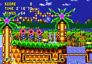 Zone 0 Gt Sonic Cd Gt Palmtree Panic