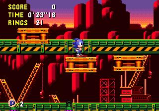 Zone 0 Gt Sonic Cd Gt Wacky Workbench